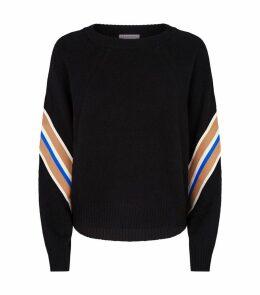 Wool Stripe Detail Sweater