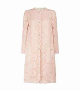 Lace Floral Button Coat