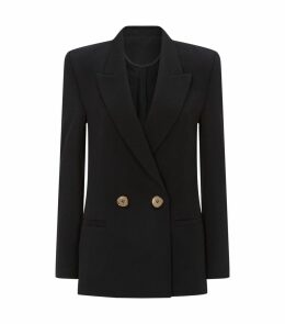 Jeffrey Double Breasted Wool Blazer
