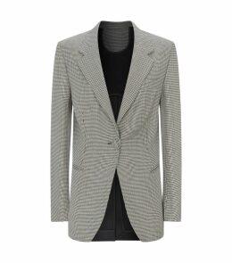 Janis Merino Wool Contrast Back Blazer
