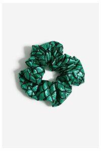 Womens **Green Mermaid Scrunchie - Green, Green