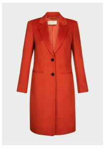 Tilda Wool Coat Burnt Orange