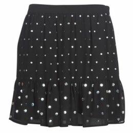 MICHAEL Michael Kors  NAIL HT FLOUNCE SKIRT  women's Skirt in Black