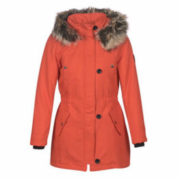Only  ONLIRIS  women's Parka in Red