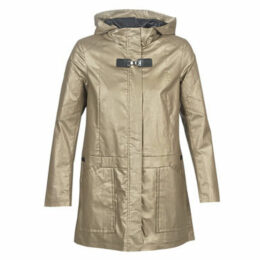 One Step  DIEGO PARKA  women's Parka in Beige