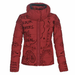 Desigual  SUNNA  women's Jacket in Red