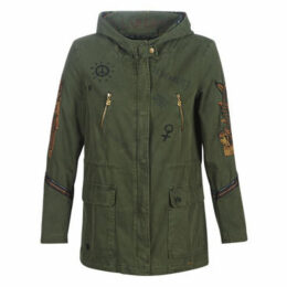 Desigual  JANINE  women's Parka in Green