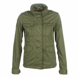 Superdry  AMELIA ROOKIE ICON JACKET  women's Parka in Green