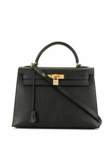 Hermès Pre-Owned Kelly 35 Sellier 2way bag - Black