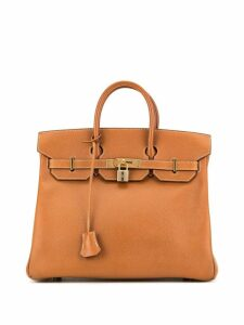 Hermès Pre-Owned Haut A Courroies 32 tote - Brown