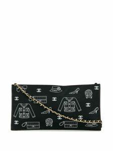 Chanel Pre-Owned Icon shoulder bag - Black