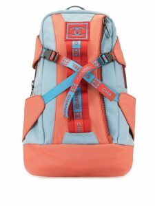 Chanel Pre-Owned Sports Line CC backpack - Blue