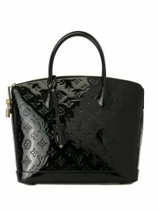 Louis Vuitton Pre-Owned Vernis Lockit PM handbag - Black