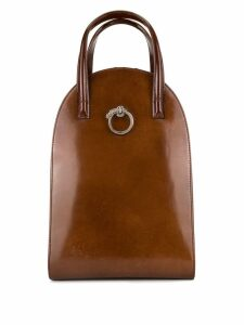 Cartier Pre-Owned Panther 2way bag - Brown