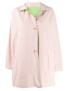 A.N.G.E.L.O. Vintage Cult 1980's reversible A-line coat - Pink