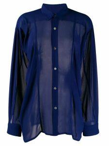 Comme Des Garçons Pre-Owned 1990's shirt - Blue