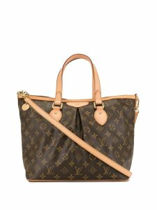 Louis Vuitton Pre-Owned 2010 Palermo PM 2way bag - Brown