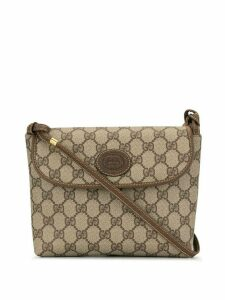 Gucci Pre-Owned GG Supreme crossbody bag - Grey