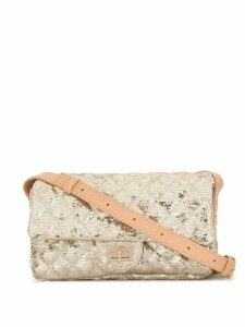 Chanel Pre-Owned CC 2.55 sequin crossbody bag - Gold