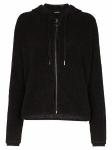 Sweaty Betty mesh hoodie - Black