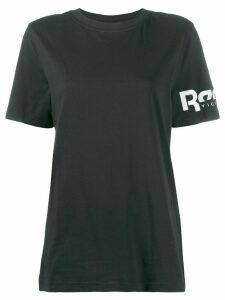 REEBOK X VICTORIA BECKHAM printed logo performance T-shirt - Black