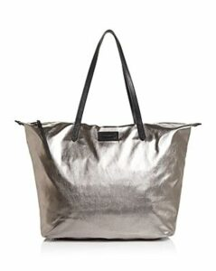 Rebecca Minkoff Metallic Washed Nylon Tote