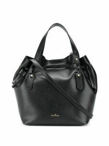 Hogan drawstring tote bag - Black