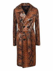 Dsquared2 Snake Skin Effect Coat