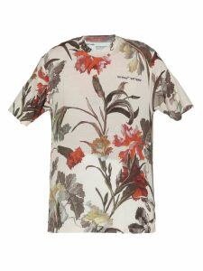 Off-White Floral Over Tee