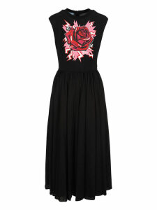 Prada Rose Maxi Dress
