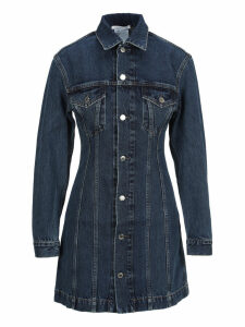 Helmut Lang Denim Mini Dress