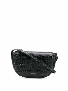 Frenzlauer Swing crocodile effect mini bag - Black
