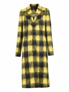 Maison Margiela Checked Coat