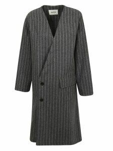 Zucca Striped Coat
