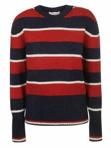 Thom Browne Wide Rep Stripe Pullover