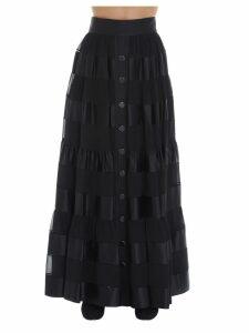 Zimmermann sabotage Ribbon Stripe Skirt
