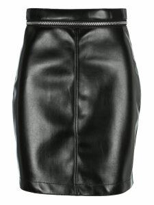 Philosophy Zipped Waist Mini Skirt