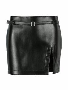 Philosophy Belted Mini Skirt
