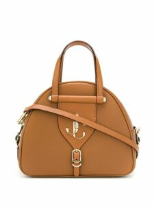 Jimmy Choo Varenne/S bowling bag - Brown
