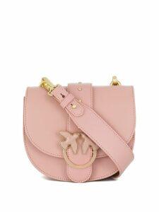 Pinko round Love cross body bag