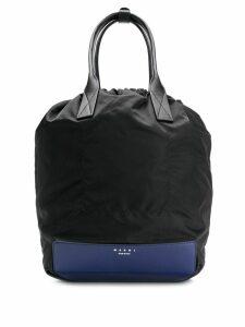 Marni top-handle drawstring backpack - Black