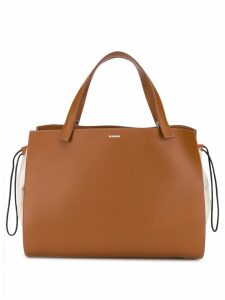 Jil Sander drawstring tote bag - Brown