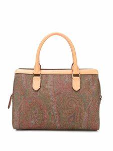 Etro paisley print tote bag - Brown