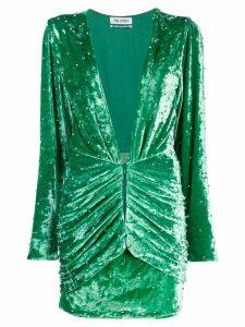 The Attico Velvet Mini Dress