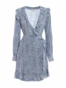 Michael Kors Floral Wrap Around Dress
