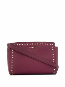 Twin-Set studded shoulder bag - Purple