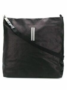 Rick Owens oversized draped tote - Black