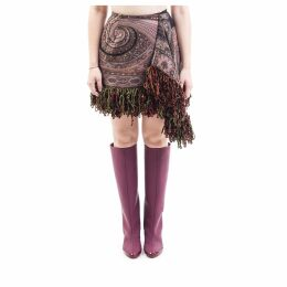 Etro Blend Wool Midi Skirt