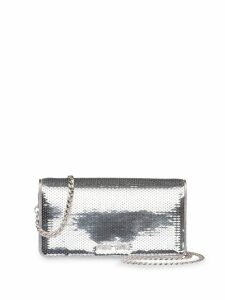 Miu Miu sequinned mini bag - Silver