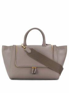 Anya Hindmarch vera zipped tote-bag - Neutrals
